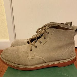 Clarks Suede Mid Boots SZ 9.5